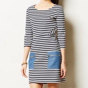 Anthropologie Tabitha striped dress